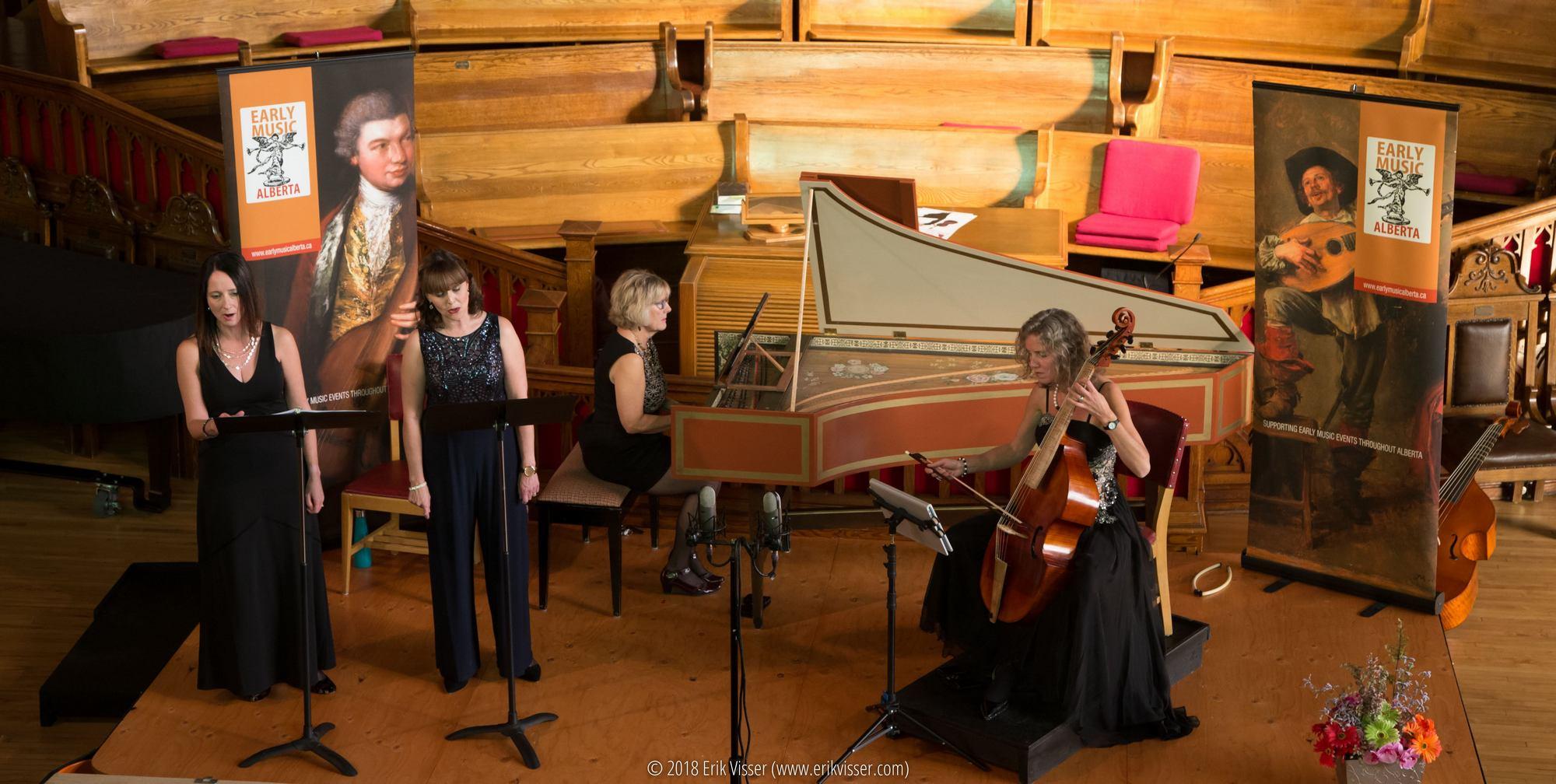 Early Music Alberta Fundraising Concert Jolaine