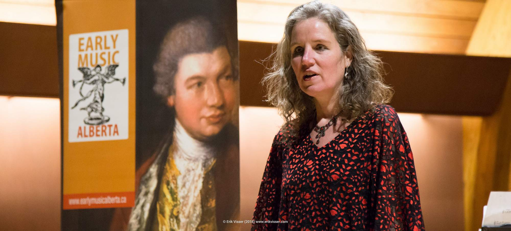 Early Music Alberta Fundraising Concert Josephine van Lier